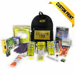 13033 Deluxe Emergency Backpack Kits (1 Person Kit)