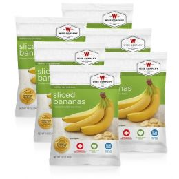 NEW Sliced Bananas - 6 PACK